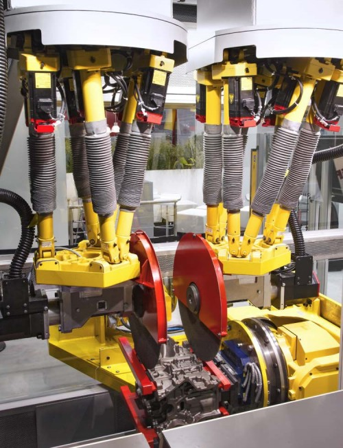 Automotive part robotic finish
